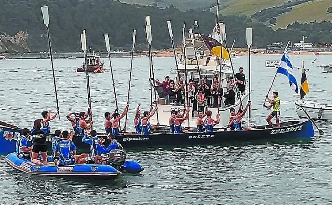 La Enbata tiene hoy nuevo reto en aguas de La Concha