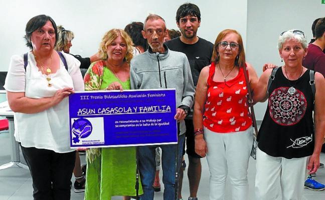 Premio a la igualdad para Asun Casasola
