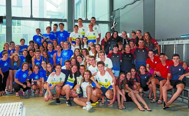 El Bidasoa XXI se acercó al centenar de medallas en el Campeonato de Gipuzkoa