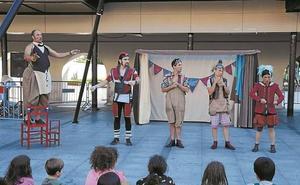El teatro de calle dará paso hoy a los conciertos de Kultur Kale Zikloa