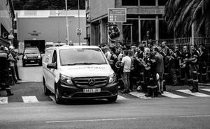 Los accidentes laborales en Euskadi se saldan este año con solo medio millón en sanciones
