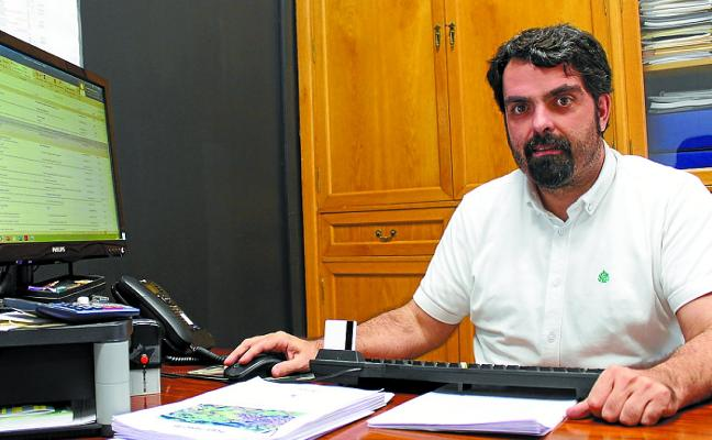 Mikel Pagola, acalde de Urnieta: «Estoy seguro de que va a ser mi última legislatura como alcalde»