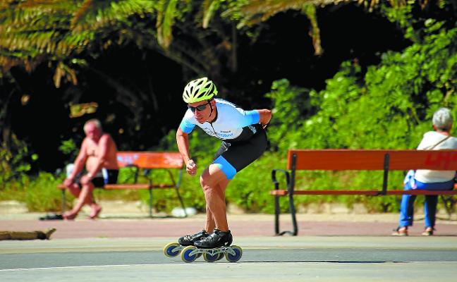 En los World Roller Games de Barcelona no se frena, se esquiva