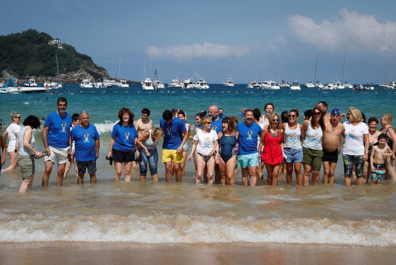España 'se moja' por la esclerosis múltiple, que afecta a 55.000 personas