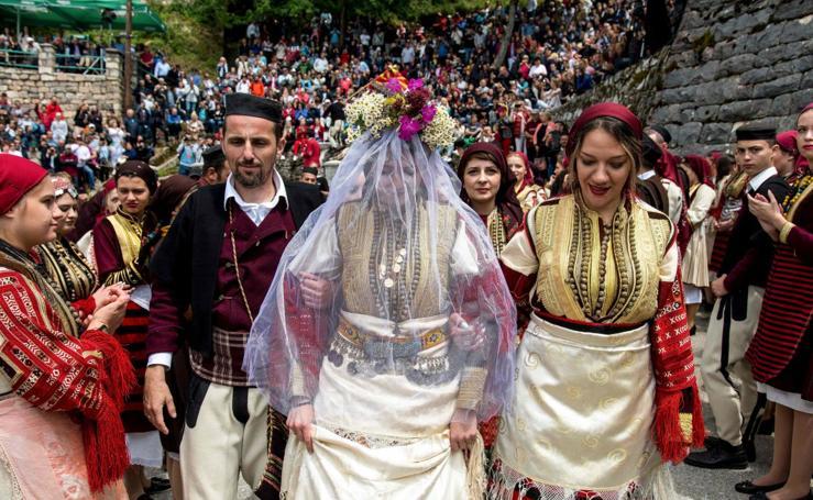 La boda veraniega de Galicnik