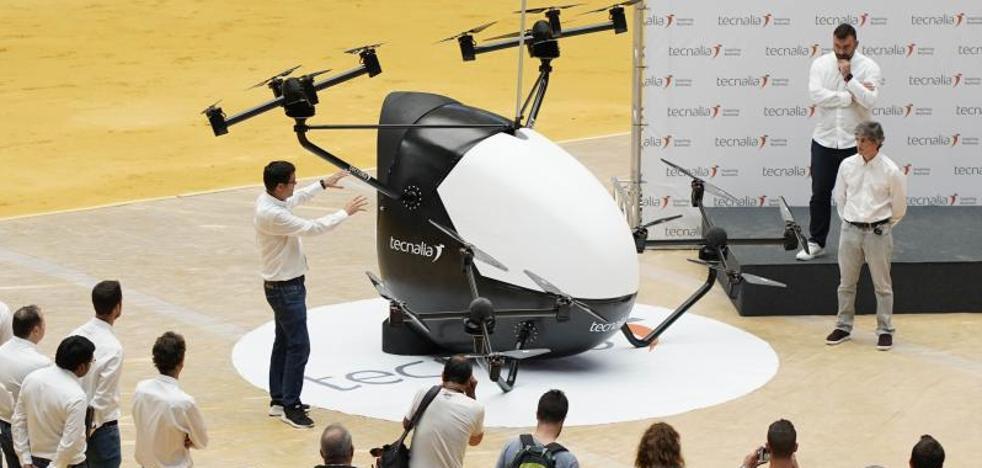 Aerotaxis del futuro 'made in Euskadi' y desarrollados por Tecnalia