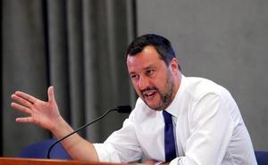 Salvini le pisa el terreno al primer ministro italiano al preparar los próximos Presupuestos