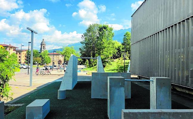 Parkour, ping-pong y ajedrez rematan las zonas de ocio de Correos e Ibarra