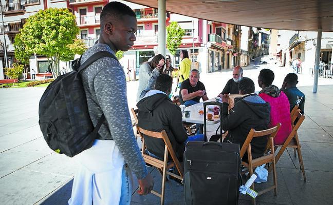 La llegada de migrantes en tránsito se desploma un 74% en Gipuzkoa en un año
