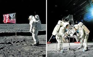 Cinco décadas de conspiraciones sobre la llegada a la luna
