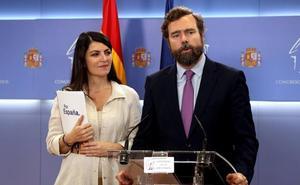 Vox propone que los diputados no cobren hasta que no haya actividad parlamentaria