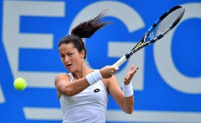 Lara Arruabarrena vence en Bucarest y avanza a segunda ronda