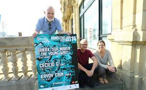 Kaydy Cain y Celilio G serán los cabezas de cartel en octubre en el Festival Donostikluba