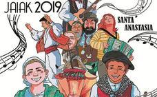 Leire Arregi gana el concurso para la portada del programa festivo