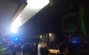 Susto por un pequeño incendio en un supermercado de Urretxu