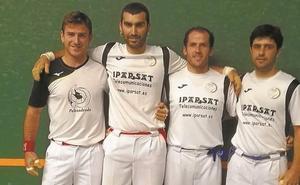 Undécima jornada del Torneo Papelera Zikuñaga, esta tarde, en el frontón municipal