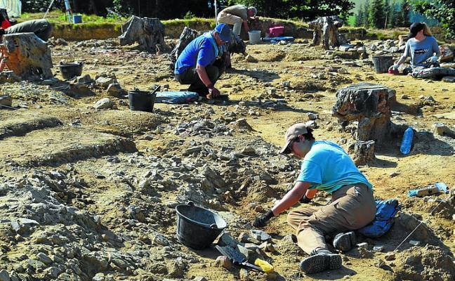 El sábado habrá visita guiada al poblado fortificado de la Edad del Hierro de Munoaundi