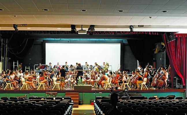 La Joven Orquesta de Euskadi realiza hoy su ensayo general