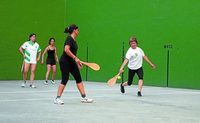 Hoy se disputan las finales del Campeonato de Pala de Mujeres