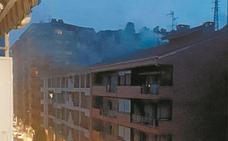 Incendio en un bajo comercial sin daños personales