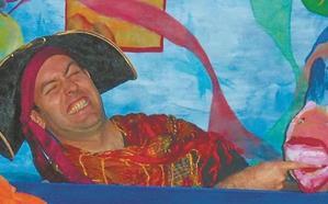 'Pirata Garrapata' ikuskizuna, larunbatean Torreberrin
