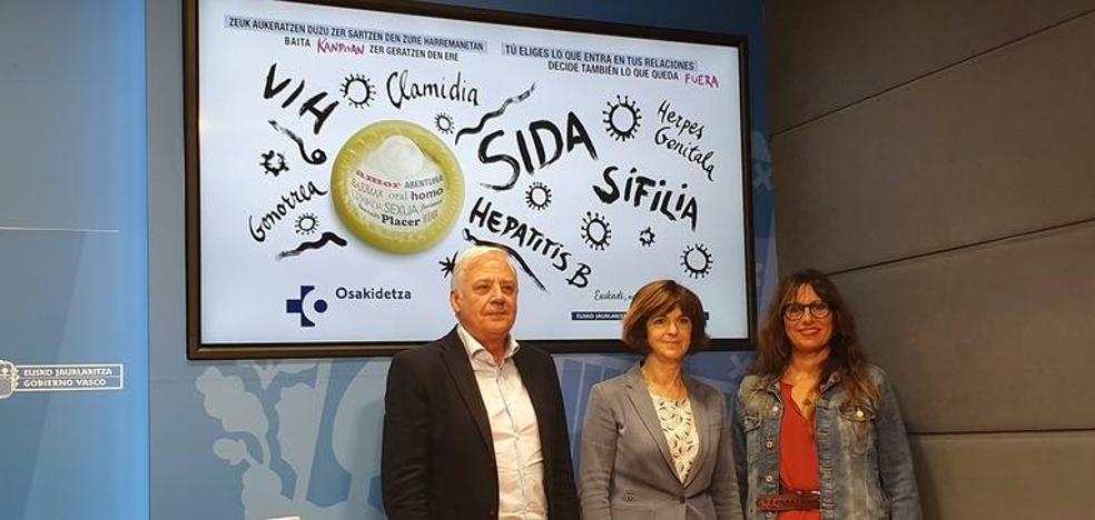 El VIH aumenta un 25% en Euskadi por banalizar su riesgo y no usar preservativos