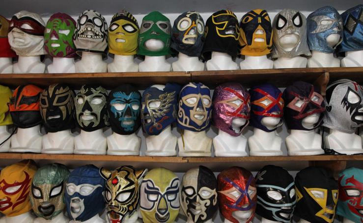Máscaras de coleccionista