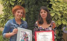 Leire Arregi, premio a la mejor portada