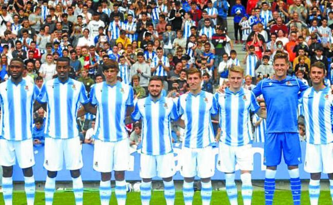 La Real Sociedad juega hoy en Asti ante el Racing a favor del Kilometroak
