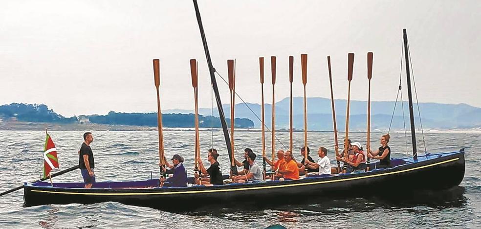 Albaola, embajadora del Festival Marítimo de Pasaia en Galicia