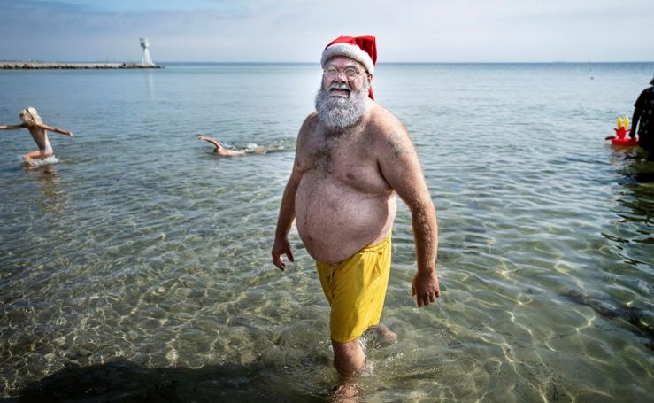 ¿Papá Noel en verano?