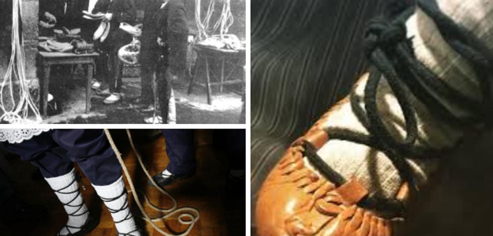 La abarka, ese humilde calzado desconocido