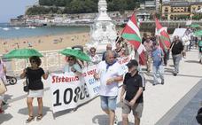 Los pensionistas vascos apuran sus movilizaciones veraniegas urgiendo a tomar medidas