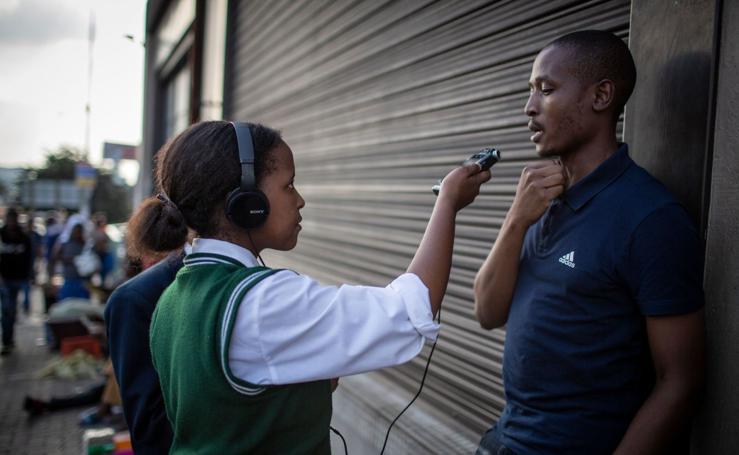 La radio para denunciar la violencia