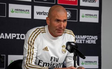 Zidane: «Bale no se vistió porque él no quiso»