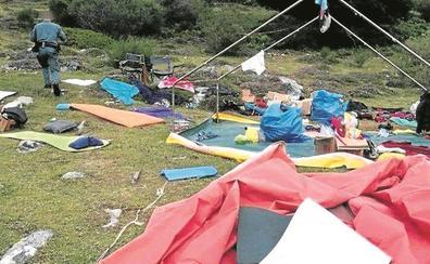 La Guardia Civil rescata a 500 menores acampados en Asturias y Castilla y León por las tormentas
