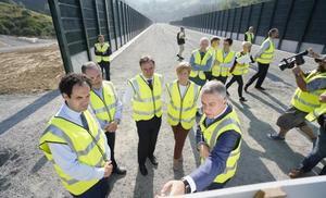 El Gobierno Vasco da por finalizado el ramal principal de la 'Y vasca' en Gipuzkoa