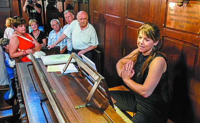 La Quincena Musical llega a Sorabilla con el dúo Julia Blasco y Fernando Guerrero