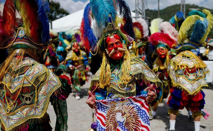 El colorido de las danzas indígenas