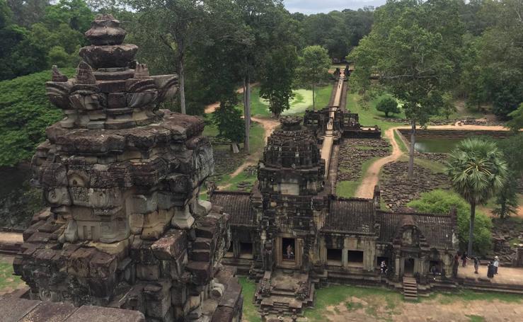 Angkor, antigua capital del gran imperio jemer y una de las principales maravillas del mundo