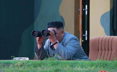Kim Jong-un reconoce que el lanzamiento de misiles es una «advertencia»