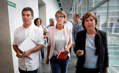 Chivite cierra el acuerdo para gobernar Navarra a la espera de la abstención de EH Bildu