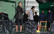 Suspendido por la lluvia el concierto de Sara Zozaya en la Terraza Heineken