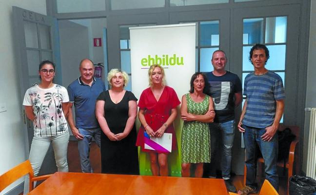 EH Bildu presenta su equipo