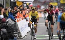 Bernal gana el Tour de Alaphilippe