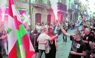 Homenajean en Oñati a uno de los secuestradores de Ortega Lara tras salir de la cárcel