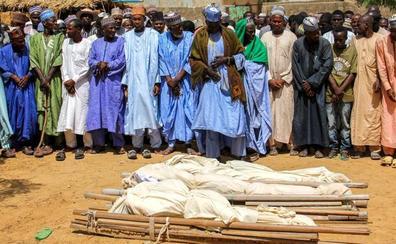 Un ataque de Boko Haram en un funeral en Nigeria dejó 65 muertos