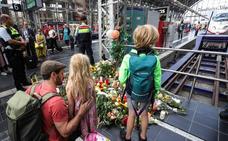La policía suiza buscaba al hombre que arrojó a un niño al tren en Fráncfort
