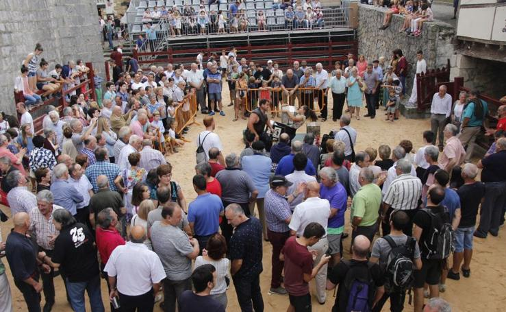 Itziar celebra las Kopraixak