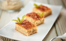 Receta de pastel vasco con crema de manzana de Martín Berasategui